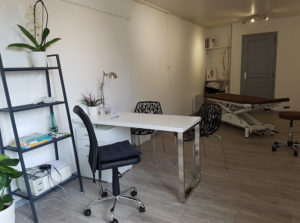 Cabinet Ostéopathe salle de travail